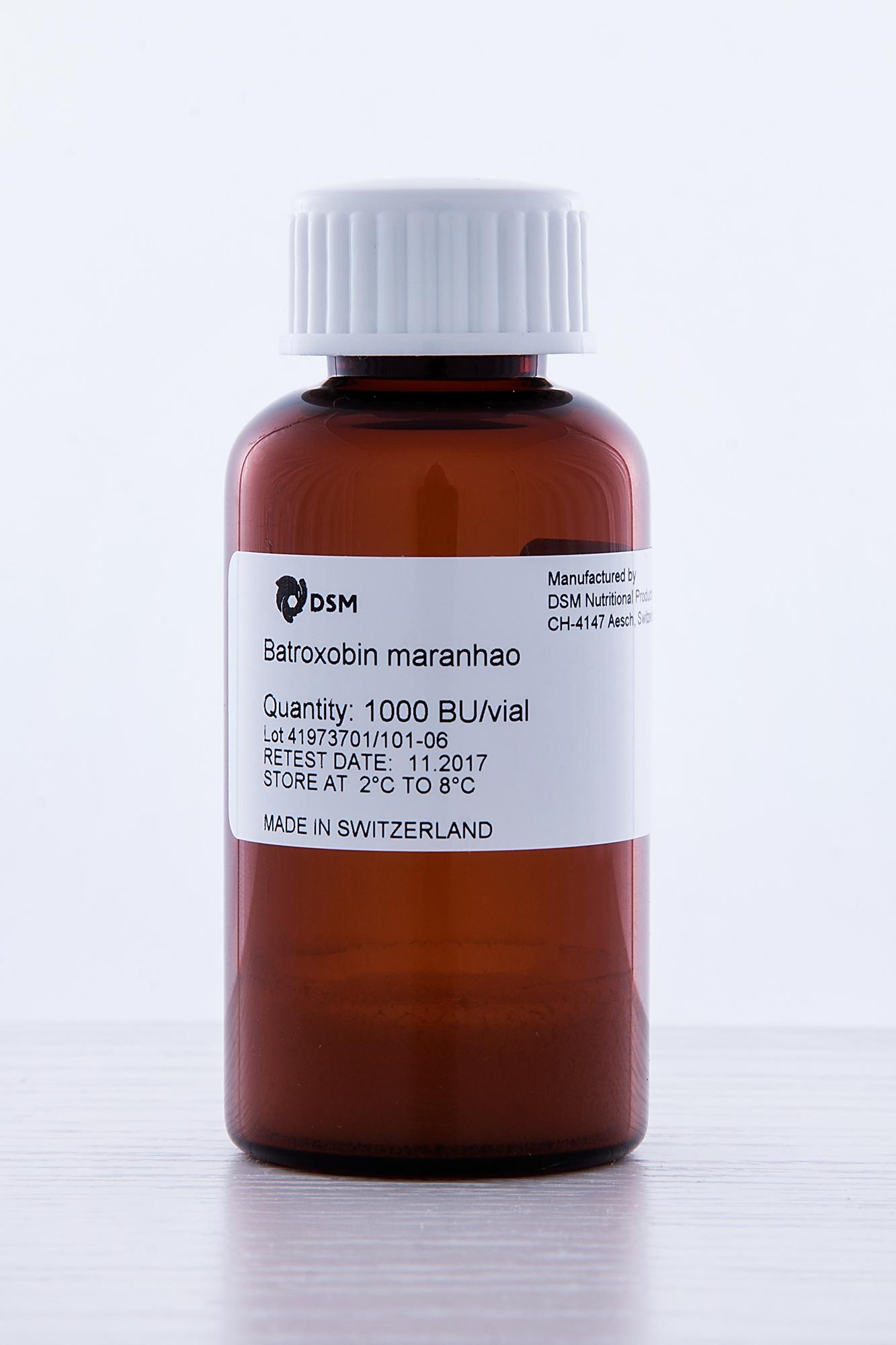 Snake venom enzyme batroxobin maranhao