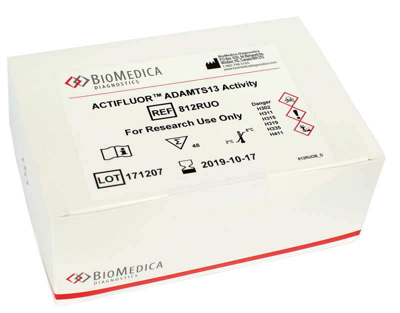 Thrombotic thrombocytopenia purpura Biomedica diagnostics kit