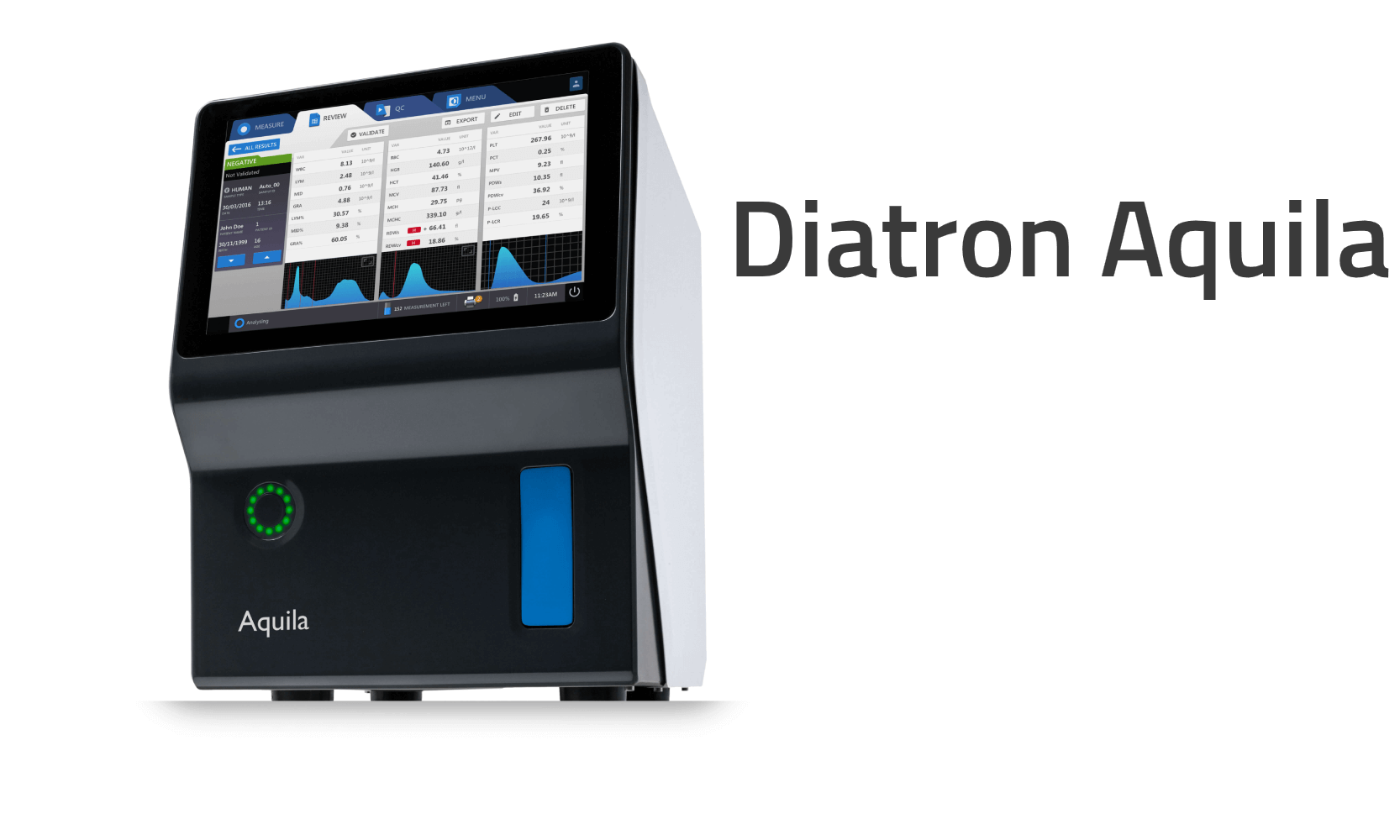 Diatron Aquila hematology analyzer Aquila Banner