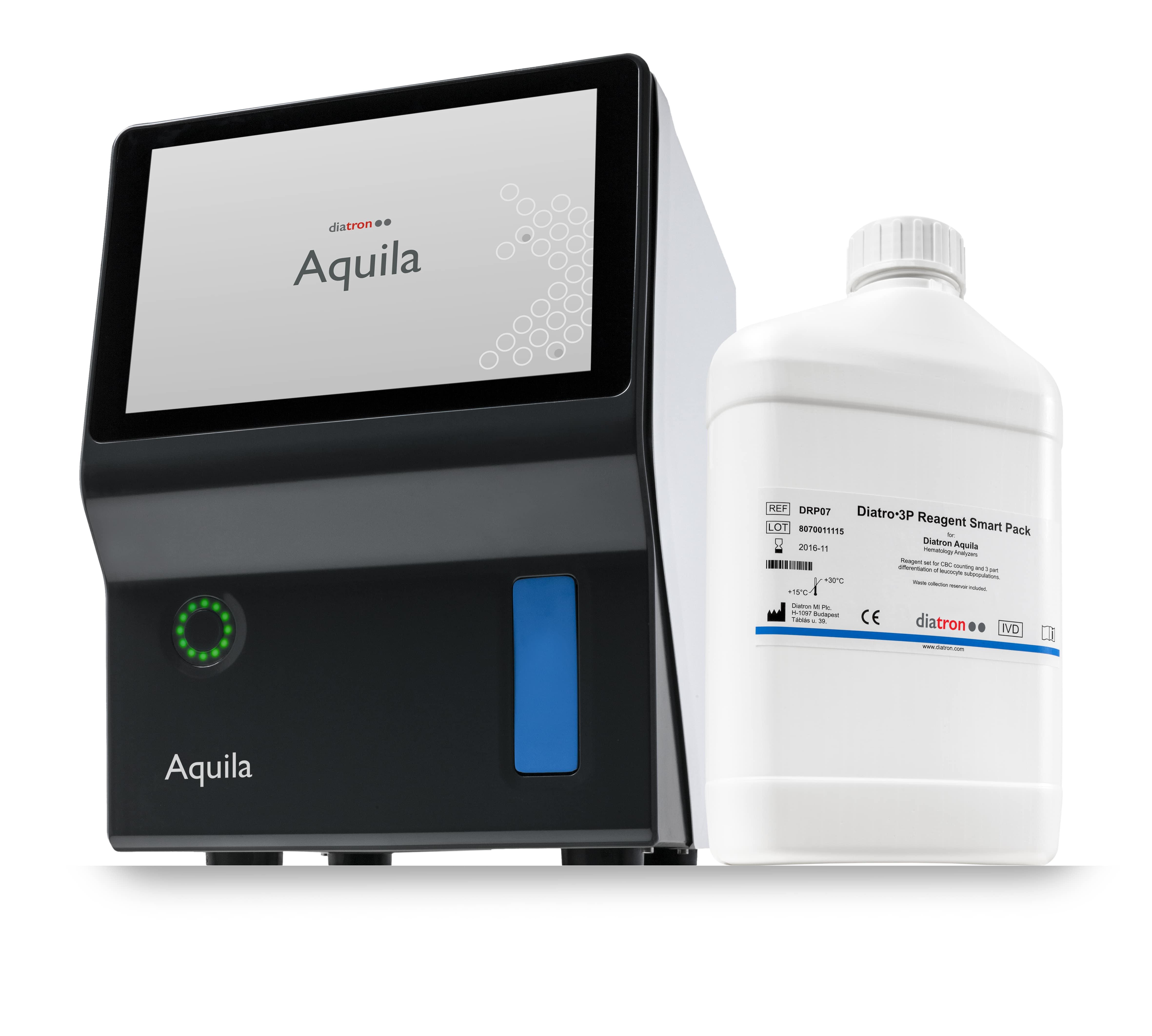 Diatro•3P Reagent Smart Pack for Diatron Aquila hematology analyzer