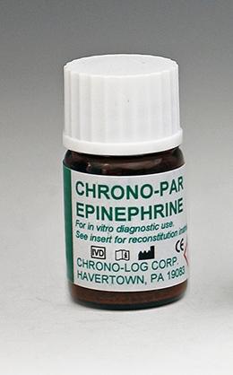 CHRONO-LOG bottle of Epinephrine