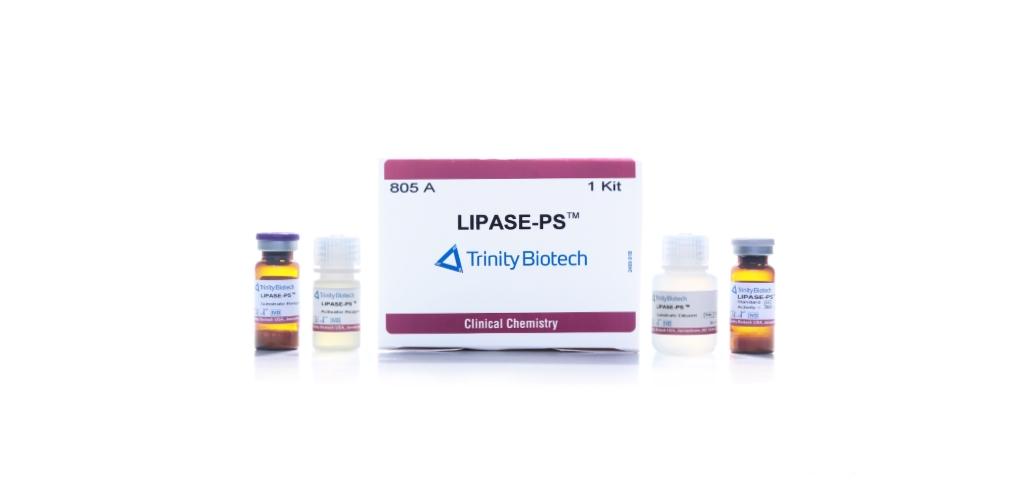 trinity biotech lipase reagent kit