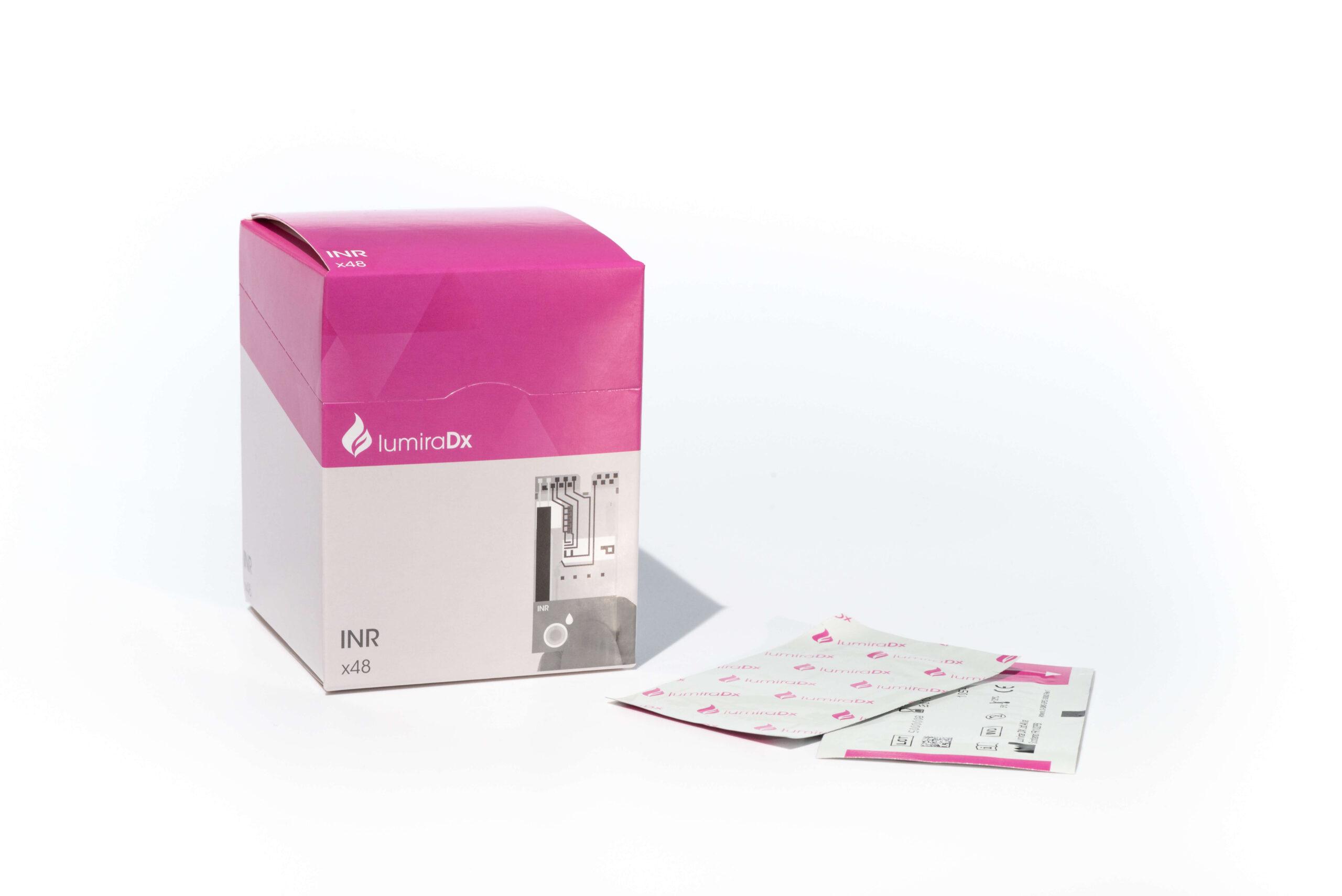 LumiraDx INR test pack