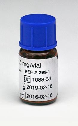 CHRONO-LOG bottle of Ristocetin